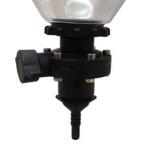 FSA-DVHA01 : Dump valve hose adaptor for the Fermentasaurus SK fermenters