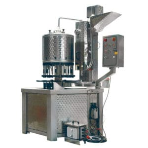 BFM-KT1600C : Automatic compact bottling machine for the filling + capping the bottles (up to 1600 bph)