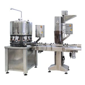 BFL-KT2200 : Automatic bottling line for the filling + capping of bottles (up to 2200 bph)