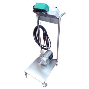 MP-90SC : Mobile pump 900W with speed control, Stainless steel