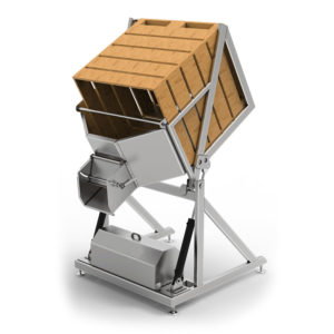 PBT-1000-MG : Pallet Bin Tipper for boxes with fruit 1000 kg