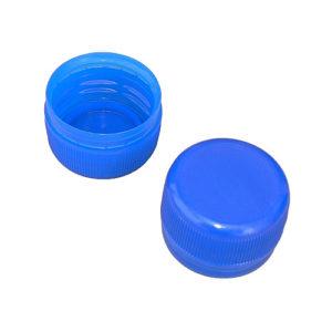 PET bottle screw caps - blue