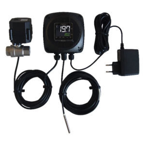 NANOFIX : Single tank temperature controller - full set with thermo sensor and regulation valve