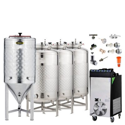 BM200FS : BREWMASTER BM-200 fermentation sets
