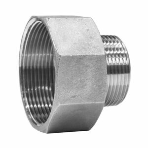 PF-PR10F12M-SS Pipe Reducer G 1″F to G 1/2″M Stainless steel