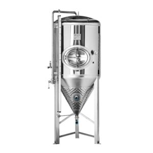 CCT-SHP3-1000DE Cylindrically-conical fermentation-maturation tank 1000/1200 liters 3.0 bar