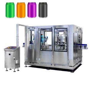 CFL-6000IC Automatic cans filling line 6000 cans/hour