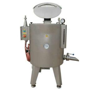 HTJC-120MG : Mixing-homogenizing tank / fruit jam cooker 120L