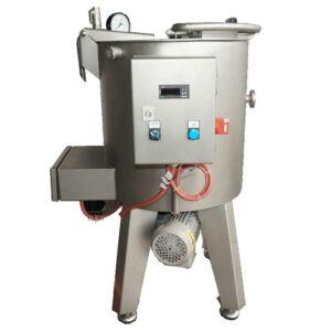 HTJC-80MG : Mixing-homogenizing tank / fruit jam cooker 80L