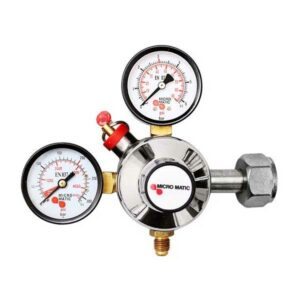 Micromatic carbon dioxide reducing valve