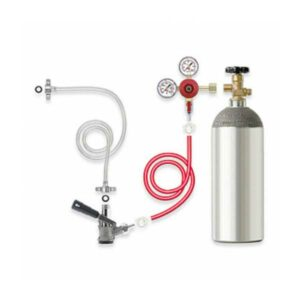 RVA-CO2 : Reducing valve OXYTURBO for pressure bottles with CO2 gas, G 3/4″, 7 bar