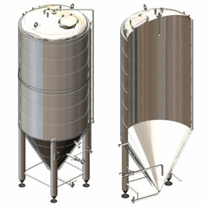 CCT-4000CR Cylindrically-conical fermentation tank CRAFT, insulated, 4000/5477L