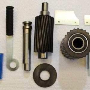 RESMM-1000 : Roller exchange set for the MM-1000 malt crusher