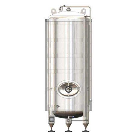 MBTVI-18000C Pressure cylindrical tank to maturation of beer/cider – vertical, insulated 20000/21800L