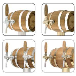 BDT-BT3V Beverage dispense tower Barell-T 3-valves