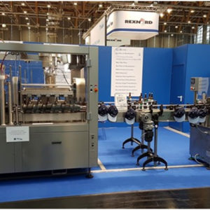 BCFL-MB1200 Automatic bottle & cans filling line 1200 bottles/hour