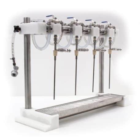 BFM4-250S Manual bottle filler