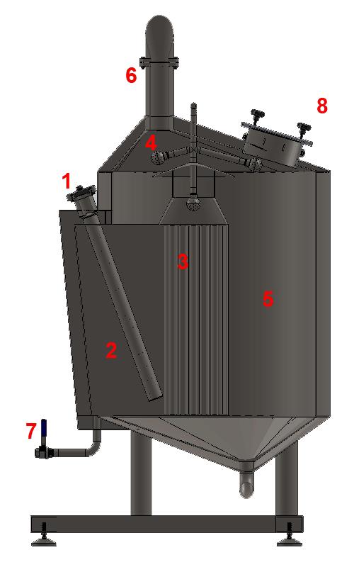 BH BWLE 300 800X500 08 wort kettle - BREWORX LITE-ECO 300 : Wort brew machine - bhm, bwm-ble, ble