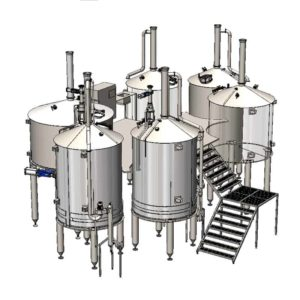 BREWORX OPPIDUM 6000 : Wort brew machine – the brewhouse