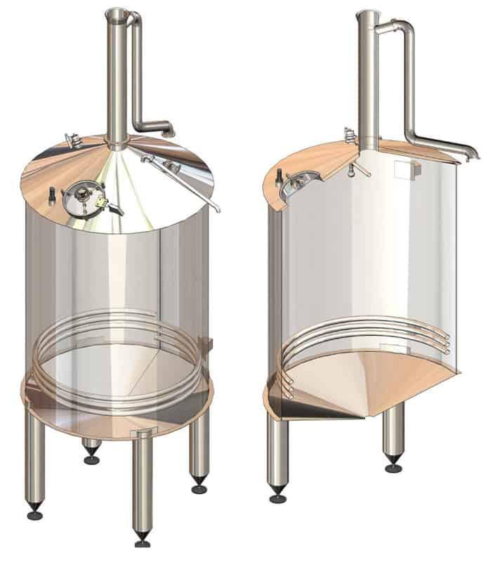BH BWOP 6000 wort collector 01 - BREWORX OPPIDUM 6000 : Wort brew machine - the brewhouse - bop, bwm-bop