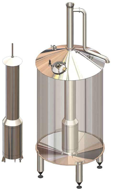 BH BWOP 6000 wort kettle 01 - BREWORX OPPIDUM 6000 : Wort brew machine - the brewhouse - bop, bwm-bop