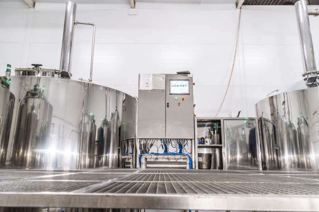 BREWORX OPPIDUM 4000 brewery with the automatic control system