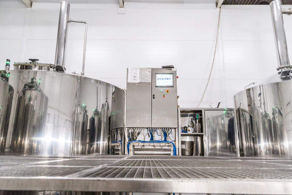 Breworx Oppidum brewhouse with the automatic control system