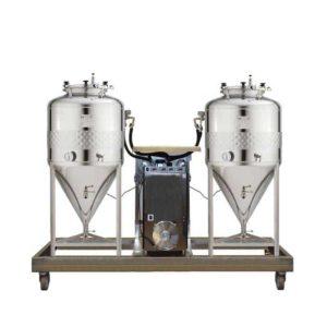 FUIC-SHP1C-2x100CCT Compact fermentation unit 2×100/120 liters 2.5bar