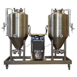 FUIC-CHP1C-2x300CCT Compact fermentation unit 2×300/360 liters