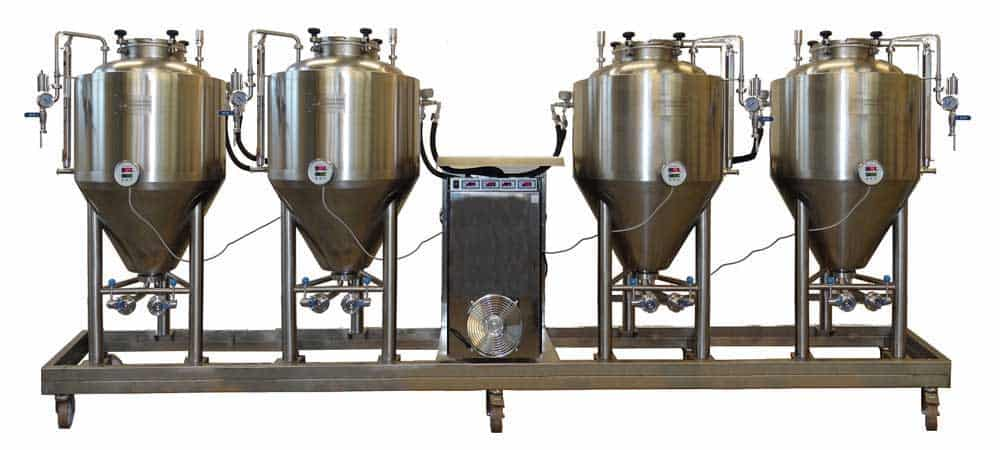 Fermentation and maturation unit FUIC-CHP1C-4x250CCT