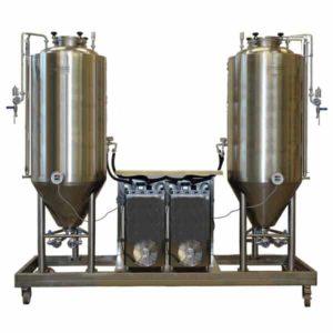 FUIC-CHP2C-2x1000CCT Compact fermentation unit 2×1000/1276 liters