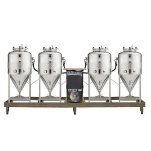 FUIC-SHP1C-4x100CCT Compact fermentation unit 4×100/120 liters 2.5bar