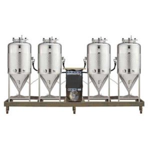 FUIC-SLP1C-4x200CCT Compact fermentation unit 4×200/240 liters 1.2 bar