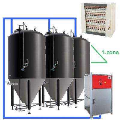 CC1Z Complete fermentation sets with tanks CCT-3000C