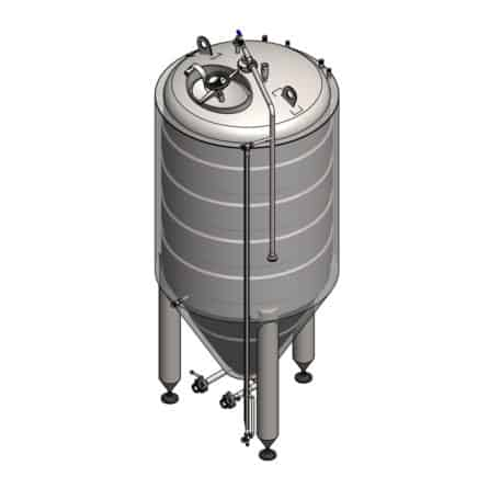 Cylindrical-conical tank CCT-C-SQ