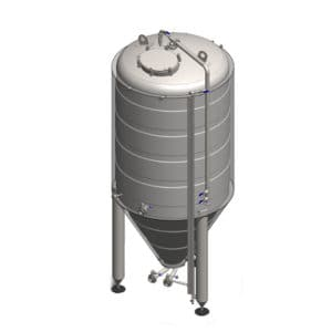 CCT-1000C Cylindrically-conical fermentation tank CLASSIC, insulated, 1000/1276L