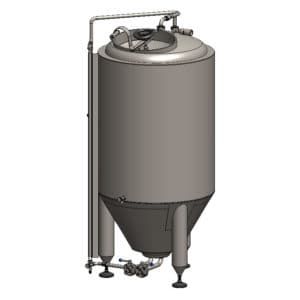 CCT-400C Cylindrically-conical fermentation tank CLASSIC, insulated, 400/487L