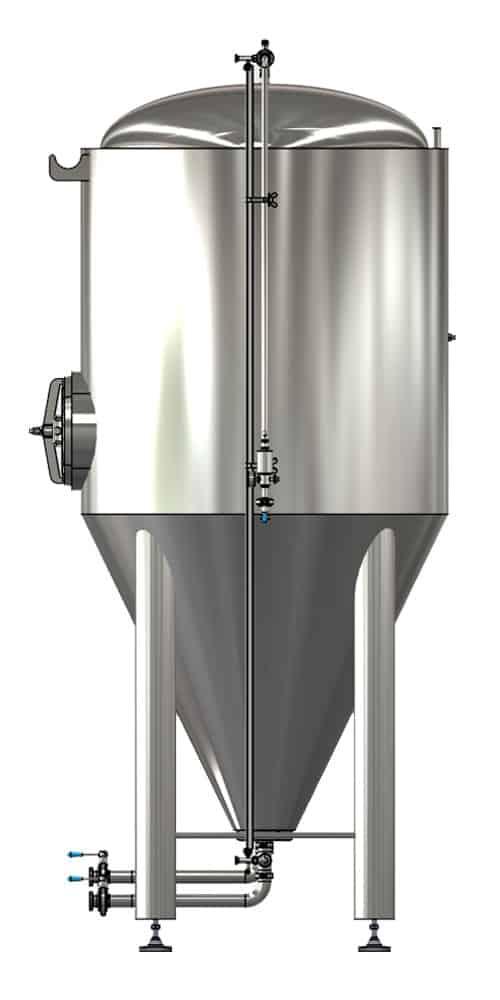 CCTM B1 002 1000x500 - CCTM-1500B1  Modular cylindrically-conical fermentation tank 1500/1865 L - b1, b1sets