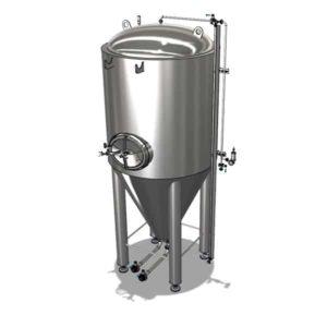 CCTM-500B1  Modular cylindrically-conical fermentation tank 500/600 L
