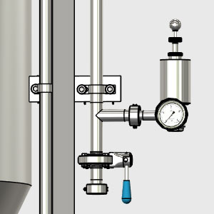 CCTM B2 010 300x300 - CCTM-1500B1  Modular cylindrically-conical fermentation tank 1500/1865 L - b1, b1sets