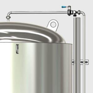 CCTM B2 011 600x600 300x300 - CCTM-1500B1  Modular cylindrically-conical fermentation tank 1500/1865 L - b1, b1sets