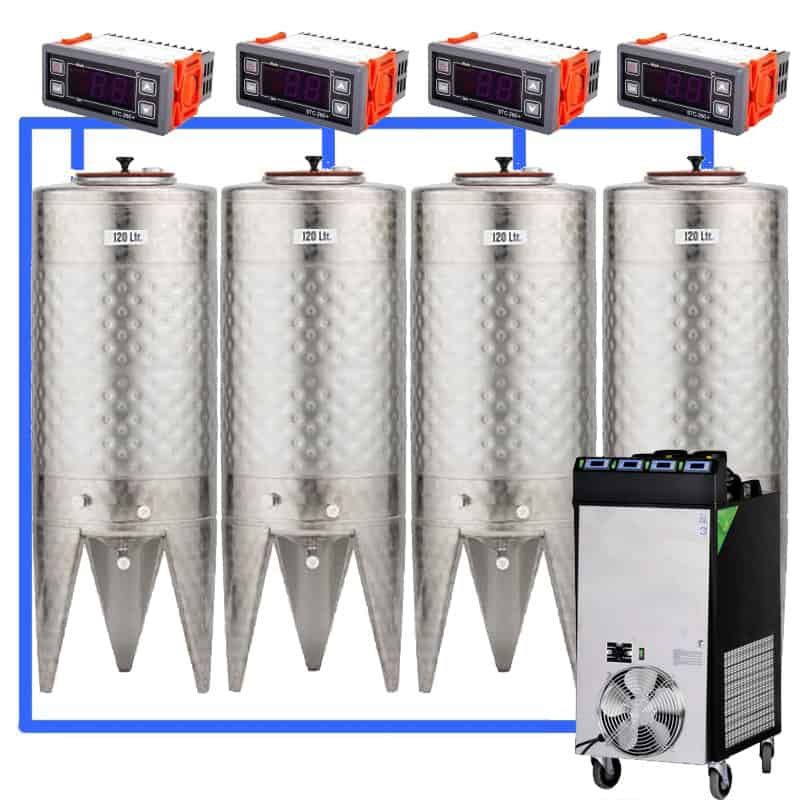 CFS 1ZS Complete beer fermentation sets simplified CLC SNP100H 4T - Microbrewery BREWMASTER BSB-201-CF450W - mcb-401-500, bsb-201-0200l, bsb-200-cct-200
