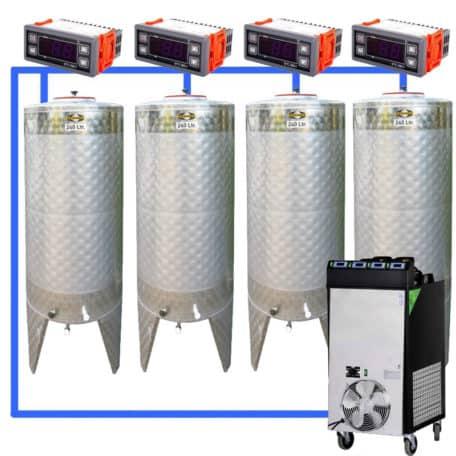 CFS-1ZS-Complete-beer-fermentation-sets-simplified-CLC-SNP200H-4T