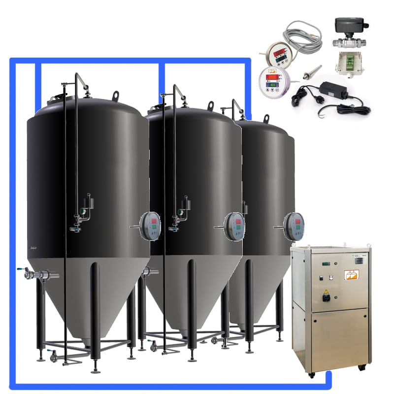 CFS complete fermenters sets - MODULO CLASSIC 250 : Wort brew machine – the brewhouse - bwm-bhm, bhm