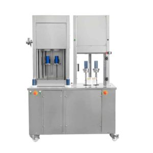CFSA-MB222 Compact semiautomatic can filling machine