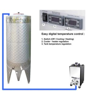CFSCT1-1xCFT-SNP-200H Complete fermentation set with 1x CFT-SNP 240 liters