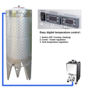 CFSCT1-1xCFT-SNP-500H Complete fermentation set with 1x CFT-SNP 625 liters