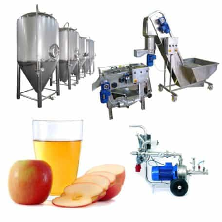 Cider production lines