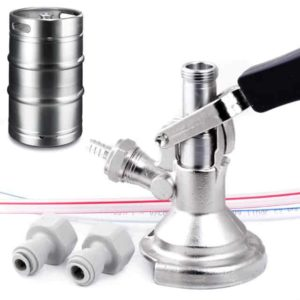 DHK-PYGA-FS Dispense head PYGMY for beer kegs – type A / full set with couplers a hoses