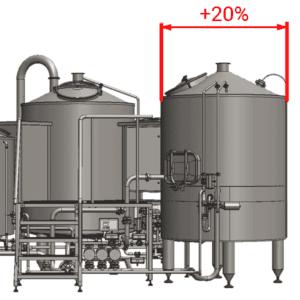 BH-OPT-EFT10 Enlarged filtration tank 1000L